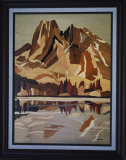 Burgess Mountain 40 x 60 cm