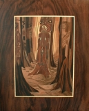 Spirit of Emily 35.5w x 30.5h cm