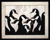 AM015-Canada-Geese-Dyed-Black-Veneer-20-x-16