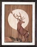 AM016-Deer-in-Moon-11-x-14-ver-2