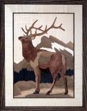 AM017-Elk-on-Rundle-11-x-14