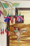 Hall-Table-Detail-Hummingbird-and-Fuchsia