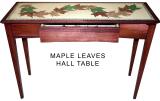 Maple-Leaf-Hall-Table-39l-x-29h-x-15w