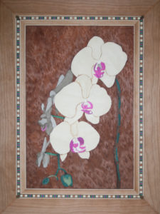 Figure 13 - Finished picture of orchid