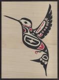 Hummingbird 33w x 25h cm