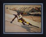 Skier on Sunshine Mountain (1988)