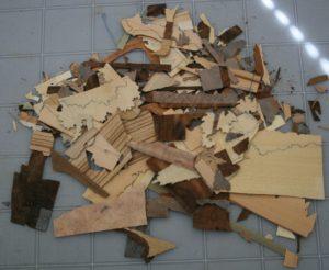 Figure 18 - Scraps left-over pieces